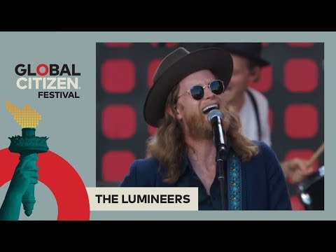 The Lumineers Call For Flood Recovery Aid and Perform 'Cleopatra' | Global Citizen Festival NYC 2017