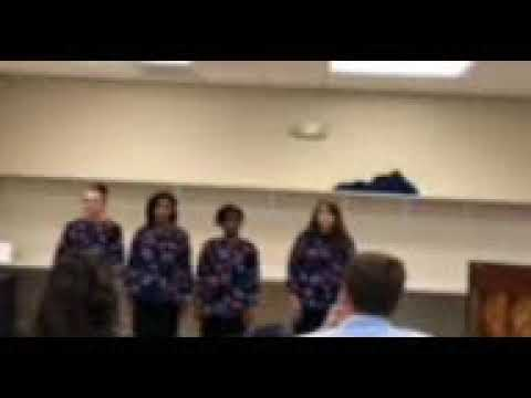 Praise temple christian academy female quartet