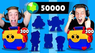 50.000 GEMS💎 MEGA BOX OPENING BATTLE! 7x LEGENDÄRER BRAWLER! 😱 Brawl Stars deutsch