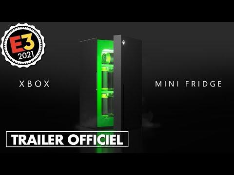 XBOX dévoile en WORLD PREMIERE son nouveau… MINI-FRIGO ! 🤣