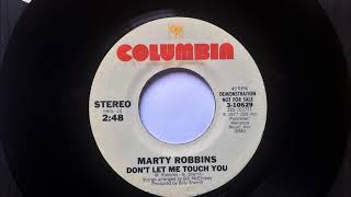 Watch Marty Robbins Dont Let Me Touch You video
