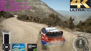Dirt Rally 4K - GTX 980 - Intel i7 3770 - 3840x2400 - Ultra Settings