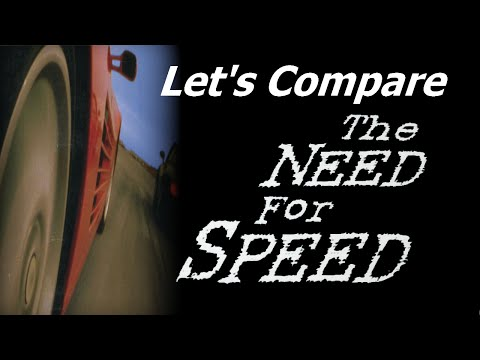 Let's Compare ( The Need For Speed )