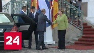 Путин и Меркель: Разговор Получился Обстоятельный и Полезный - Россия 24. Айкакан Анекдот