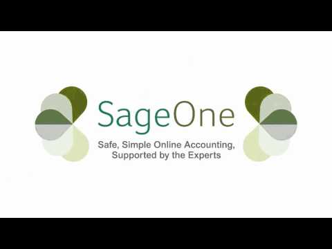 Sage One Online Accounting Software