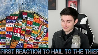 FIRST REACTION to Radiohead - Hail to the Thief (Part 1)