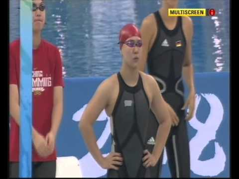 2008 Beijing Olympics - Women's 4 x 100M Freestyle Relay Final (10th August 2008)