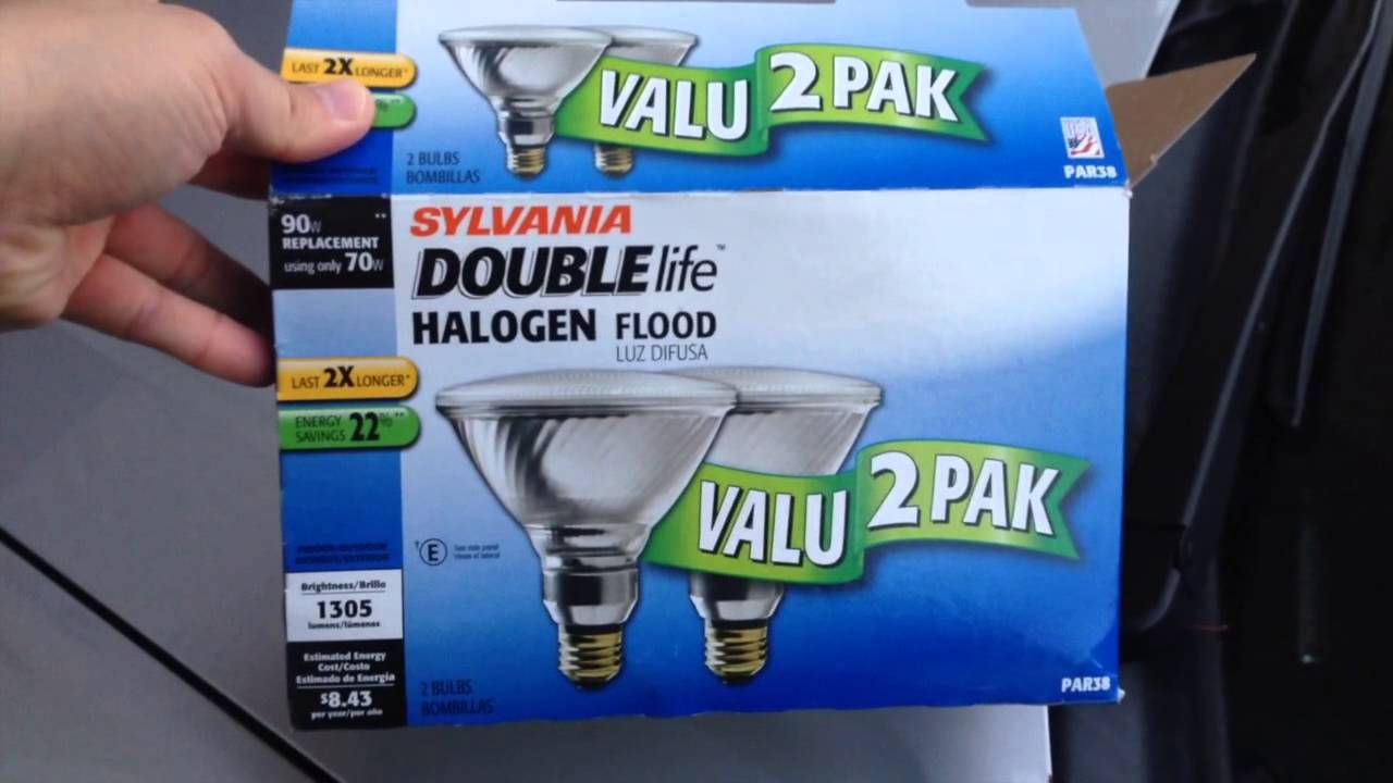 Sticking with halogen outdoor flood lights par38 youtube sticking with halogen outdoor flood lights par38 aloadofball Gallery