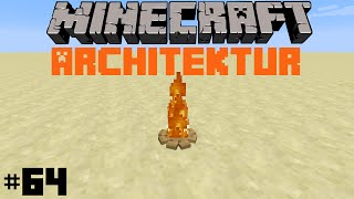 Minecraft Architektur | Episode 64 | Lagerfeuer & Spielkonsole