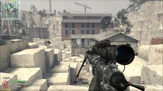 [PC] Modern Warfare 2 Multiplayer pc gameplay 2018 - sniping
