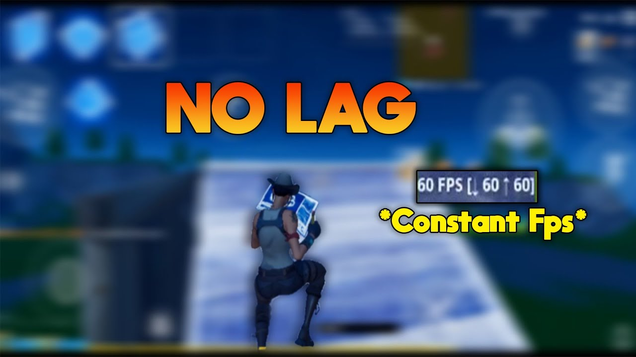 How To Get CONSISTENT FPS In Fortnite Mobile | Constant 30/60/120 FPS Tutorial!