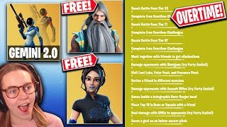 *NEW* Fortnite Update | ALL v9.40 Leaked Skins and Cosmetics + OVERTIME Challenges!!