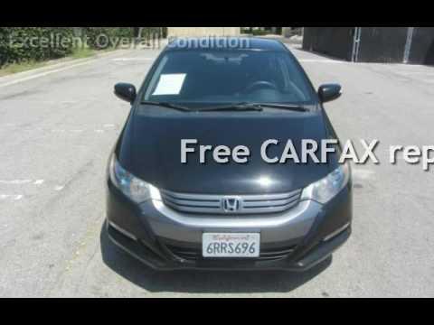 2011 Honda Insight EX w/Navi for sale in LOS ANGELES, CA