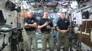 ISS Crewmembers Talk About Life on the Station