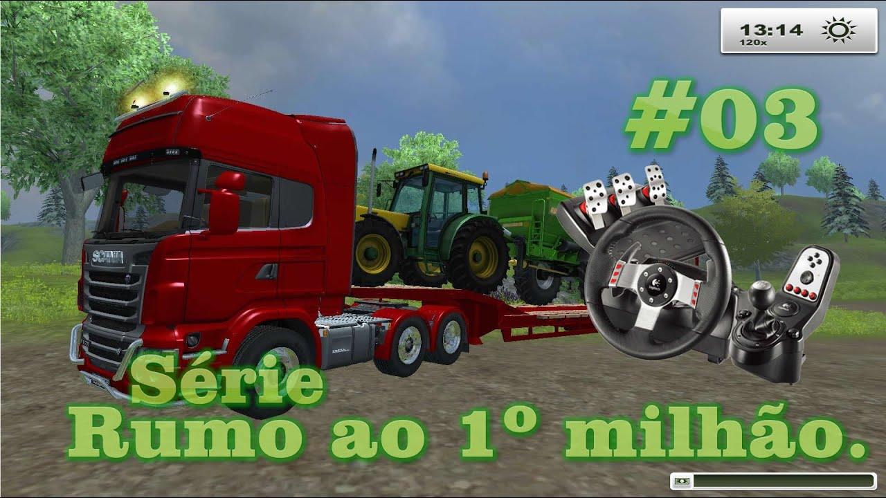 Farming simulator 2013 scania g27 logitech