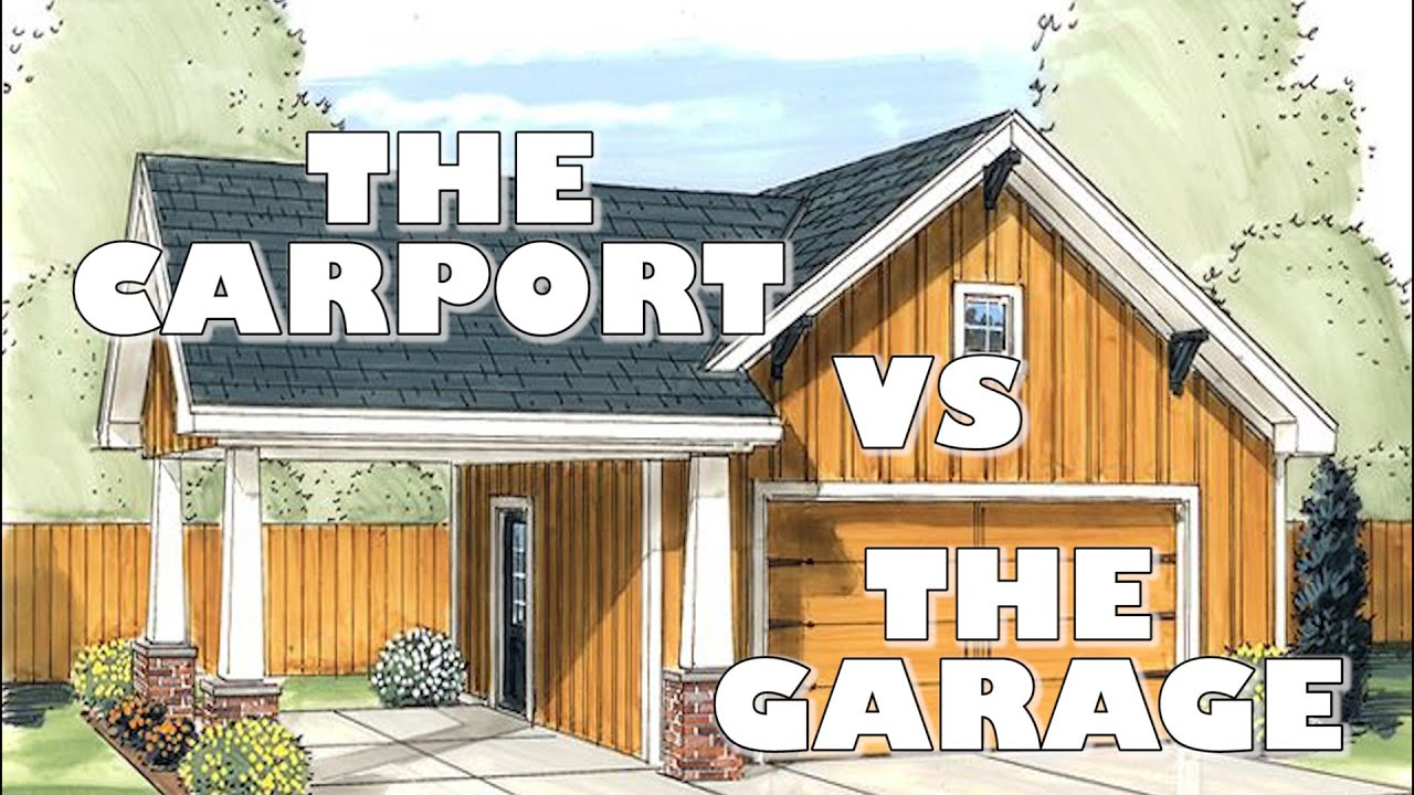 Karpot The Carport Vs The Garage - Youtube