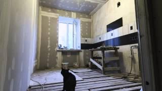 Постройка кухни. Омск 2014.