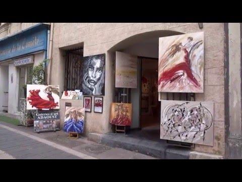 Galerie d'art Sylvie ADAOUST de Marseille au mois de mai 2016