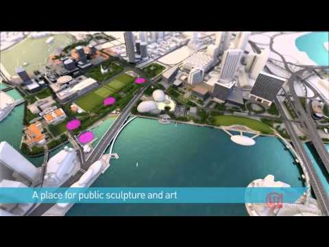 Singapore URA Master Plan 2014- Civic and Cultural District by the Bay