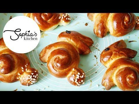 EASTER BUNNY BUNS!! Thermomix Bread Rolls Recipe | Sophia's Kitchen