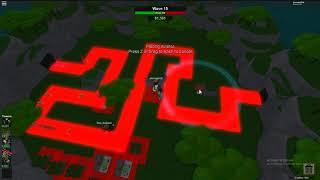 ROBLOX   Ending of Tower Battles! (wave 38) (Tri-op)