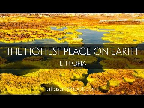 Visiting Dallol in the Danakil Depression, Ethiopia