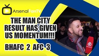The Man City Result Has Given Us Momentum!!! - Brighton 2 Arsenal 3