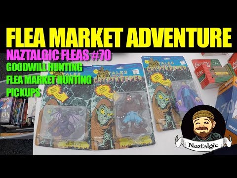 FLEA MARKET HUNTING #70 Retro Video Games, Vintage Toys, Thrifting, Pickups Toy store