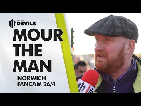 Mourinho The Man! | Manchester United 4-0 Norwich City | FANCAM