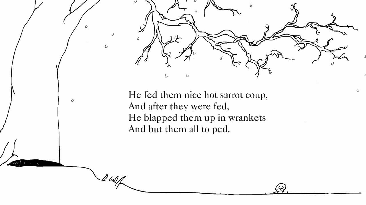 Shel Silverstein Poems The Giving Tree 3