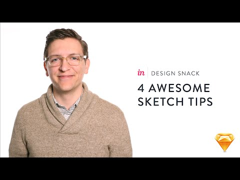 4 awesome Sketch tips - InVision Design Snack #2