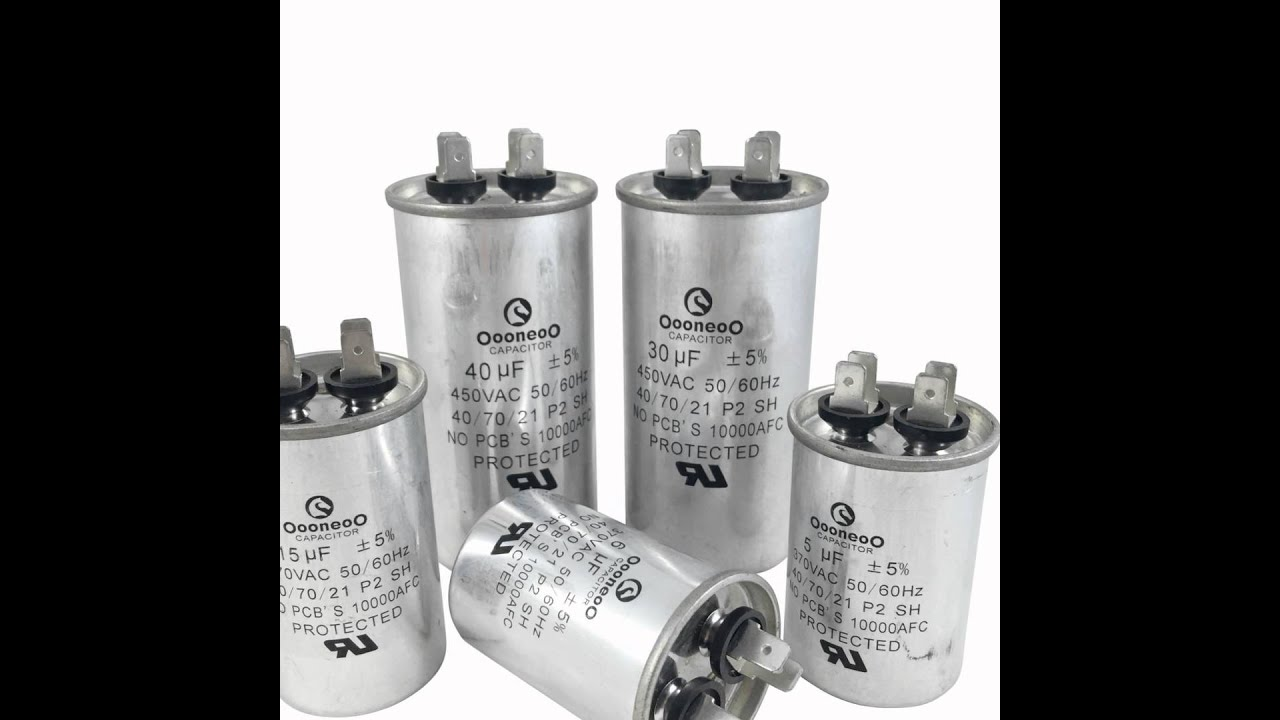 Run Capacitors Air Conditioning Sizing Capacitor Wiring