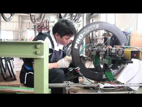 PRO-LITE Wheel Building in Taiwan