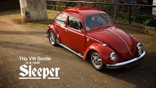 This VW Beetle is a Sleeper