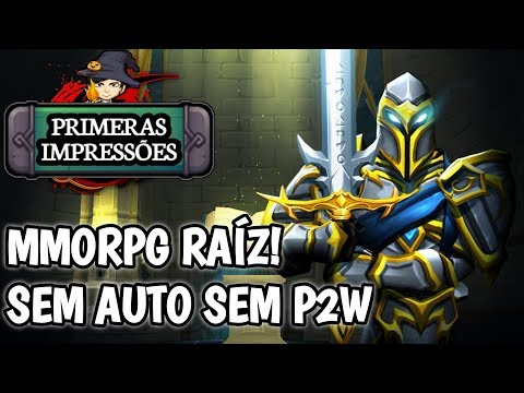 MMORPG de VERDADE! sem AUTO sem P2W! Adventure Quest 3D / GAMEPLAY ANDROID BR