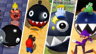 Evolution of Chain Chomp Minigames in Mario Party (1998-2021)