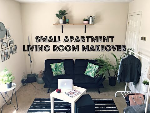 Small Apartment Living Room Makeover