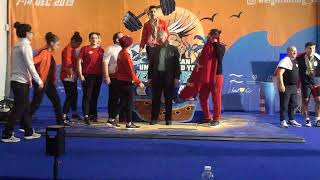 European under 15 and youth weightlifting championships 2019 Men U15 96