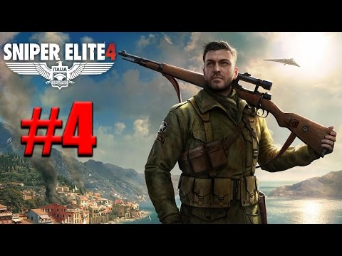 Sniper Elite 4 - Gameplay ITA - Walkthrough #04 - Cantiere navale di Lorino