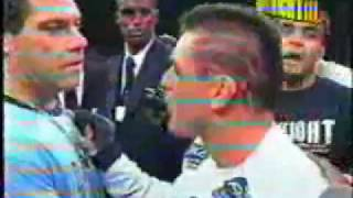 Jorge Patino Macaco desafiando Ryan Gracie