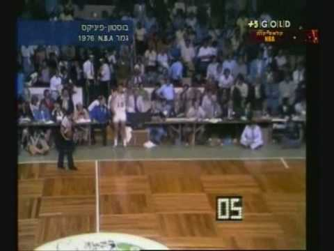 NBA final game 5, 1976: Boston vs. Phoenix,the amzing 2ed over time ending