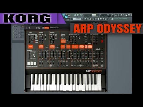 KORG ARP ODYSSEY VST ( The Legendary Analog Synthesizer )