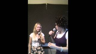 Eve Soto & Harriet Palmer Voice Lesson - Vocal Warm-Up - Get Lucky / Daft Punk