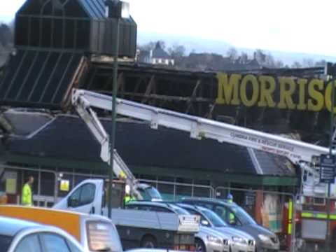 morrisons the day after the fire
