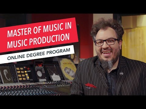 Master of Music in Music Production | Program Overview | Berklee Online | Graduate Degree