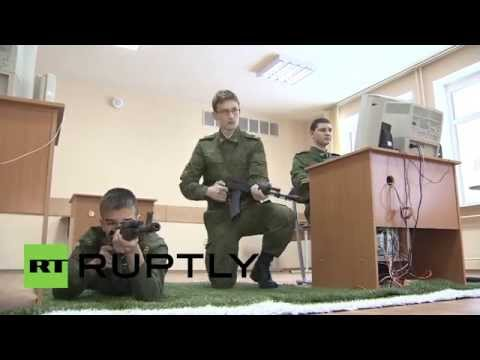 Russia: See 11-yr-old cadets train at Suvorov Military School