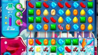Candy Crush Saga SODA Level 1401 CE