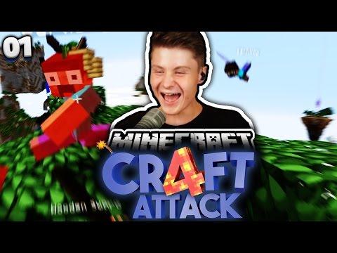 RICHTIGE ASSI AKTION! :D | Minecraft Craft Attack 4 #1 | Dner