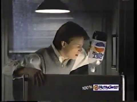 Michael J. Fox 1987 Diet Pepsi Commercial