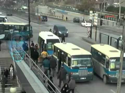Mobese'ye Yansıyan Ankara'da trafik kazaları